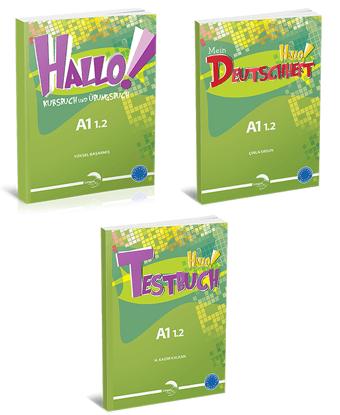Hallo Kampanya Paketi 3 - Almanca (3 Kitap) resmi