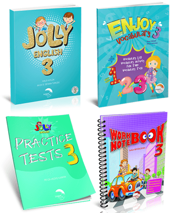 JOLLY ENGLISH 3 KAMPANYA (4 Kitap)  resmi