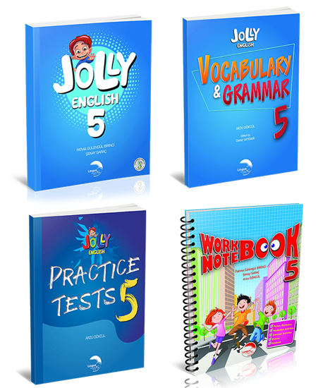 JOLLY ENGLISH 5 KAMPANYA (4 KİTAP) resmi