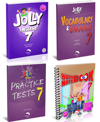 JOLLY ENGLISH 7 KAMPANYA (4 KİTAP) resmi