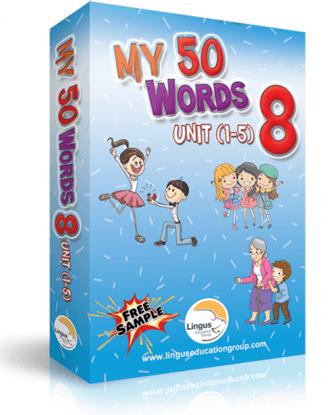 My 50 Words - 8 (Unit 1-5)