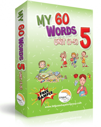 My 60 Words - 5(Unit 1-5)