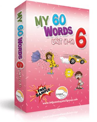 My 60 Words - 6(Unit 1-5)