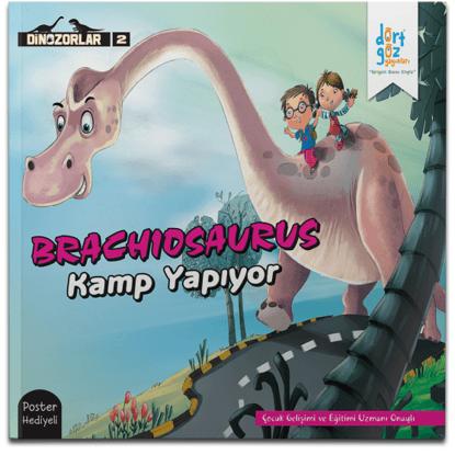 Dinozorlar Brachıosaurus ile Kamp Yapıyor