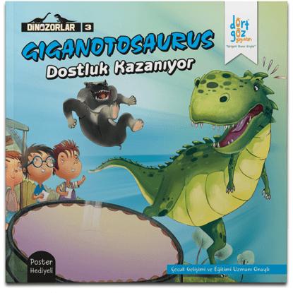 Dinozorlar Gıganotosaurus Dostluk Kazanıyor