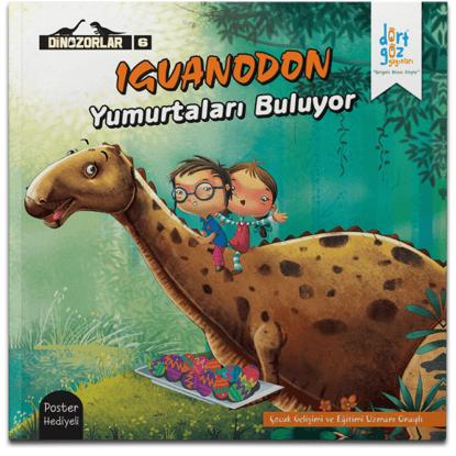 Dinozorlar Iguanodon'un Yumutaları Buluyor