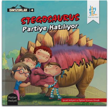 Dinozorlar Stegosaurus Partiye Katılıyor