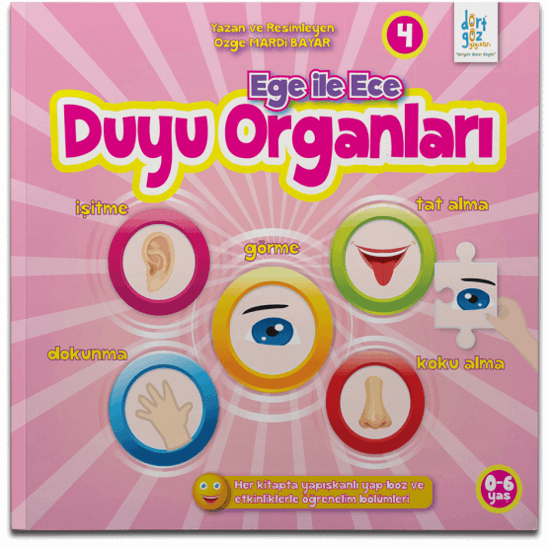 Ege ile Ece -4 Duyu Organları