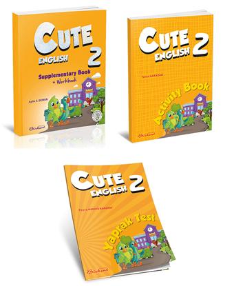 Cute English 2. Sınıflar İçin Kampanya (3 Kitap)