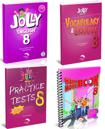 JOLLY ENGLISH 8 KAMPANYA (4 KİTAP)