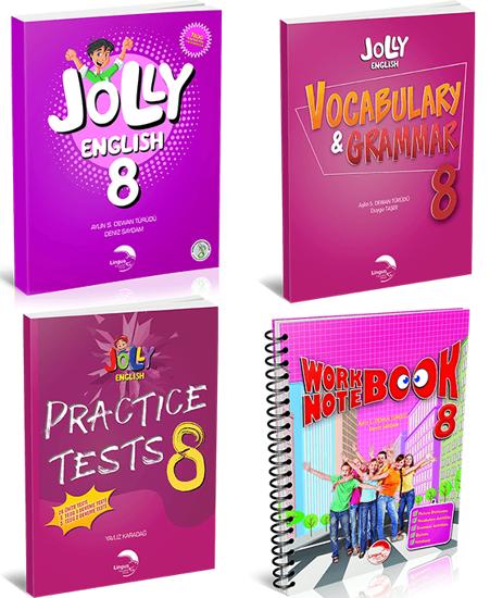 JOLLY ENGLISH 8 KAMPANYA (4 KİTAP)