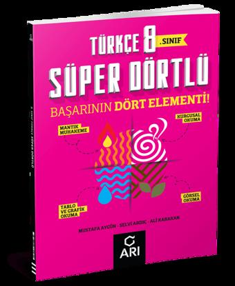 8 Sınıf Türkçe Süper Dörtlü