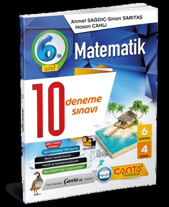 6. Sınıf – Matematik – 10 Deneme Sınavı