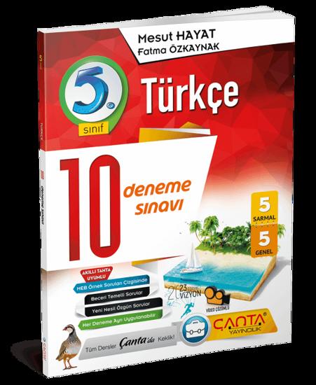 5. Sınıf – Türkçe – 10 Deneme Sınavı