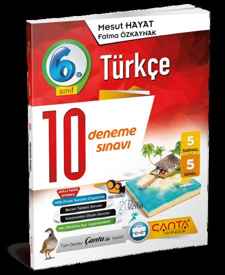 6. Sınıf – Türkçe – 10 Deneme Sınavı