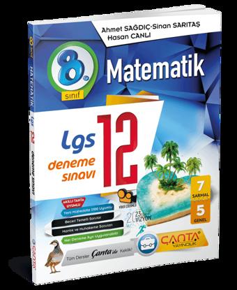 8. Sınıf – Matematik – 12 Deneme Sınavı