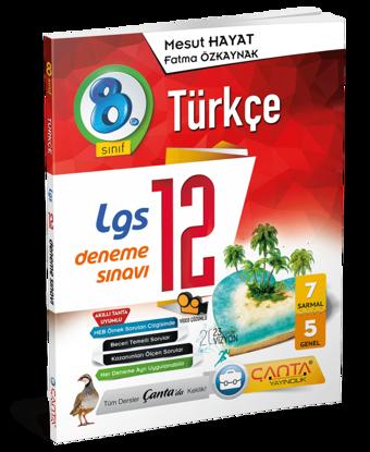 8. Sınıf – Türkçe – 12 Deneme Sınavı