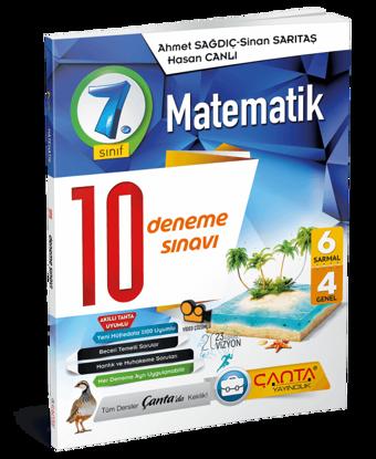 7. Sınıf – Matematik – 10 Deneme Sınavı