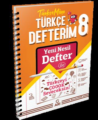 8 Sınıf Türkçemino Türkçe Defteri