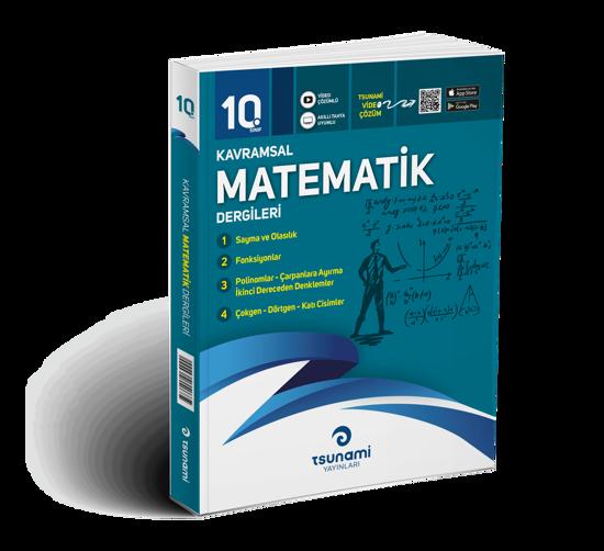 10. Sınıf Kavramsal Matematik Dergileri (4 Dergi)