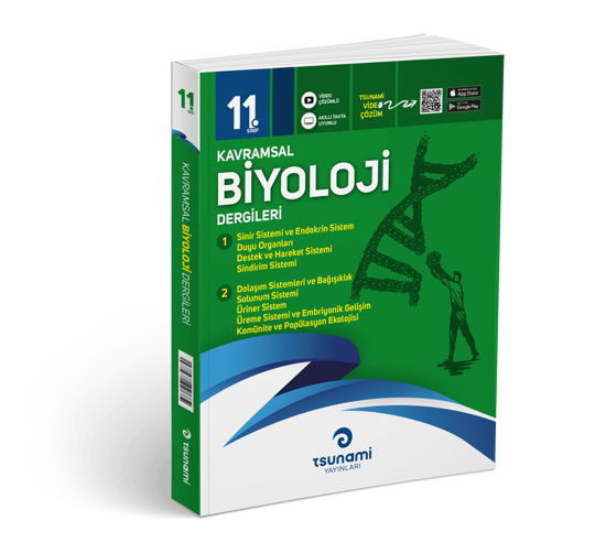 11. Sınıf Kavramsal Biyoloji Dergileri (2 Dergi)